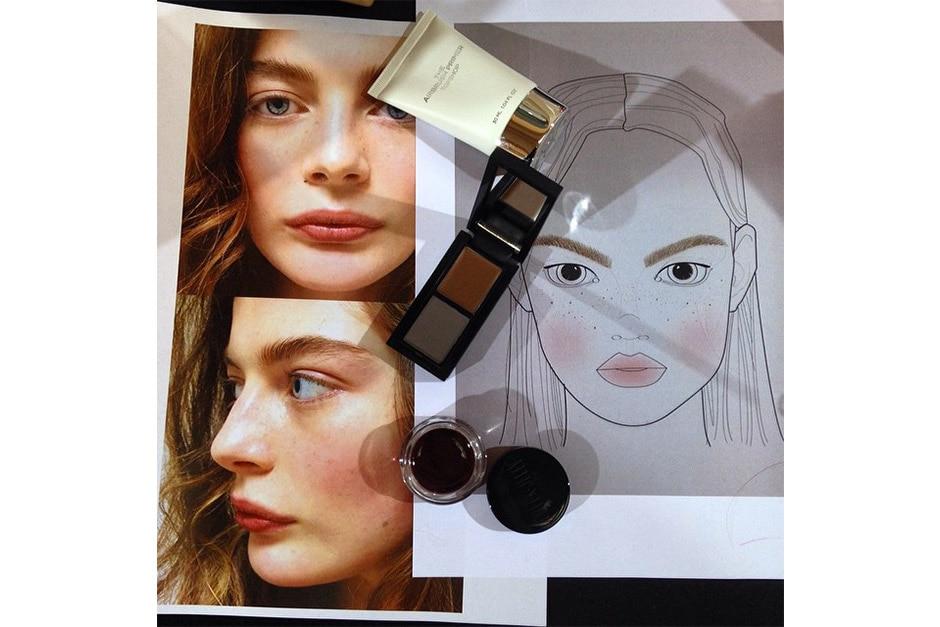 Trend make up AI 15-16 dalla LFW: aristocratic make up