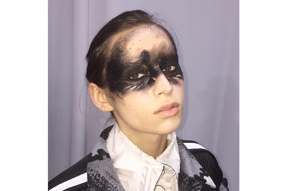 Trend make up AI 15-16 dalla LFW: dark girls