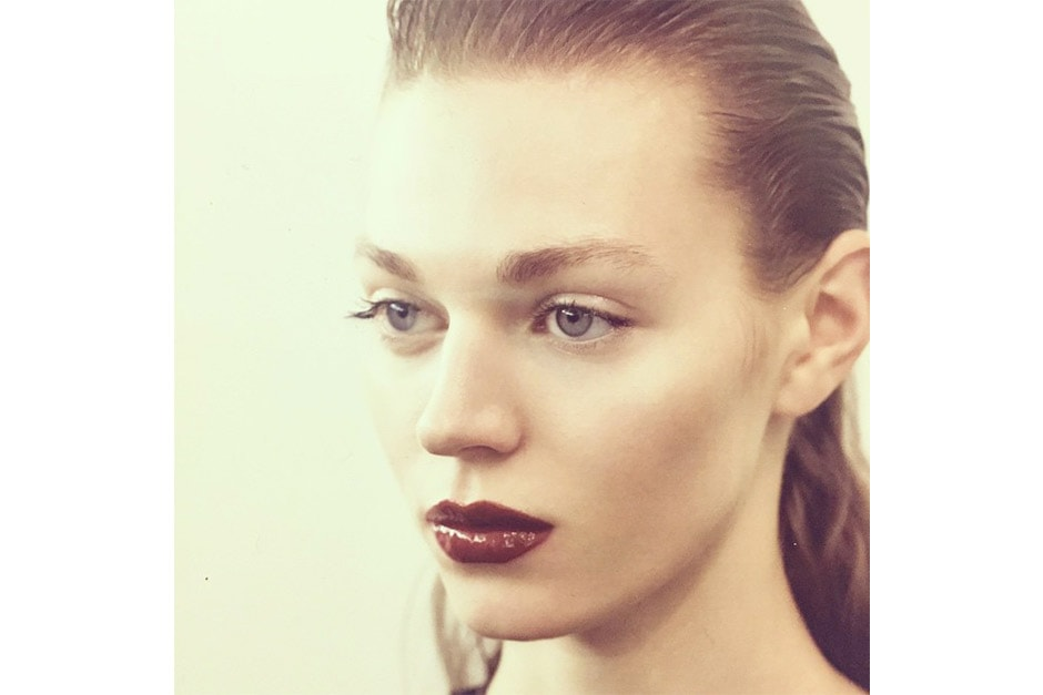 Trend make up AI 15-16 dalla LFW: dark lips