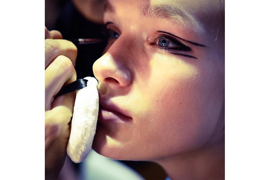 Trend make up AI 15-16 dalla LFW: graphic eyes