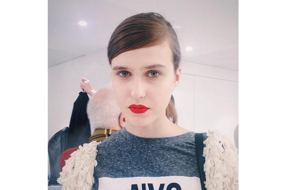 Trend make up AI 15-16 dalla LFW: red lips