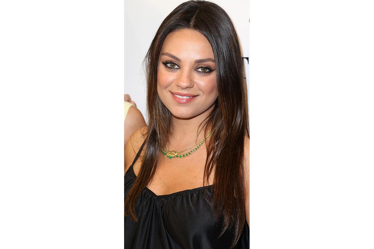 Trucco correttivo: il segreto di Mila Kunis