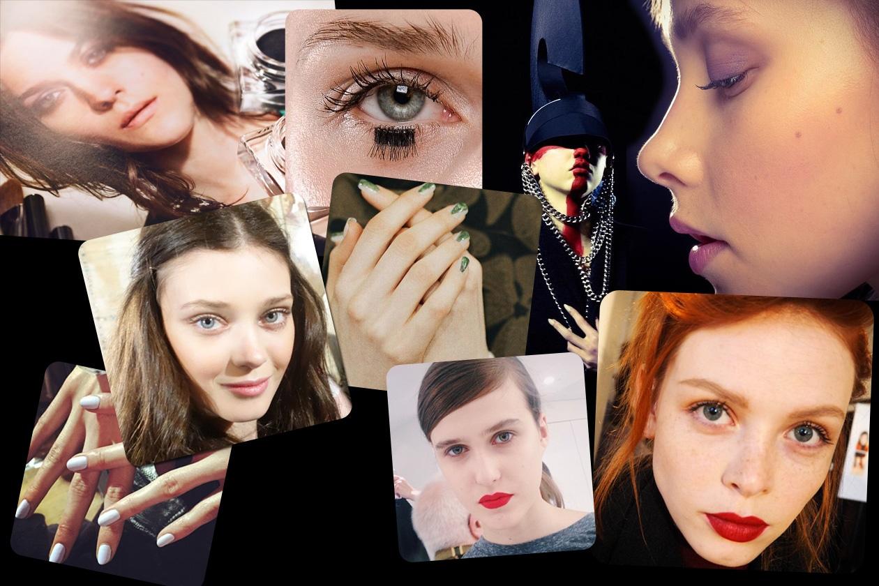 Tutti i trend make up, unghie e capelli AI 15-16 dalla LFW