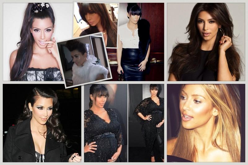 Una raccolta di foto dal profilo Instagram di Kim