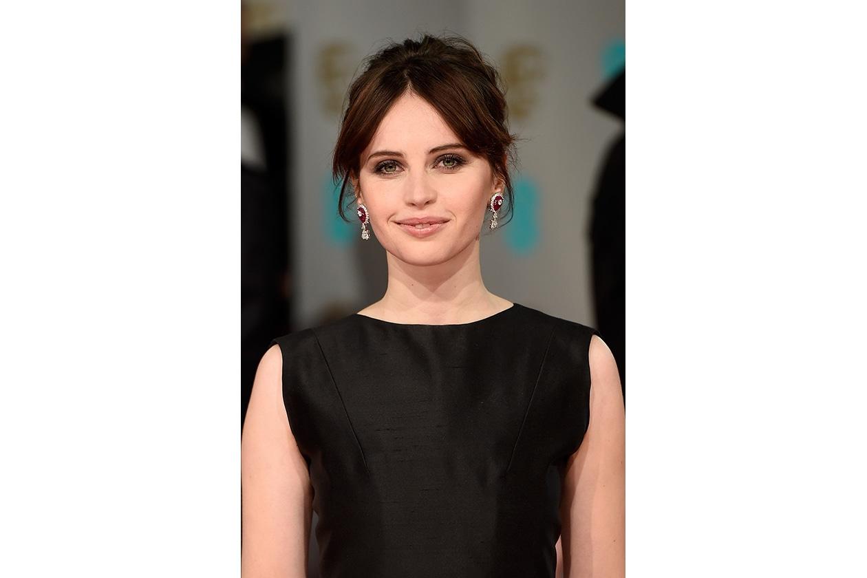 BAFTA BEAUTY LOOK: felicity jones