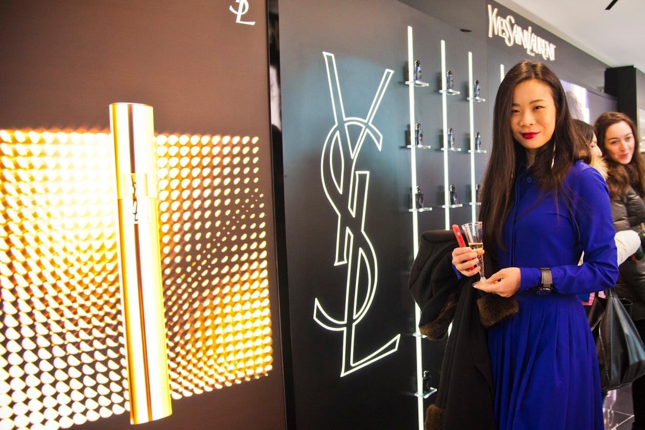 #getonstageYSLBeauty: Yu Lee al party YSL