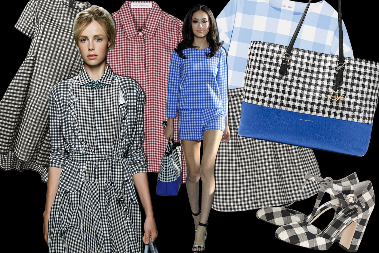 COVER gingham