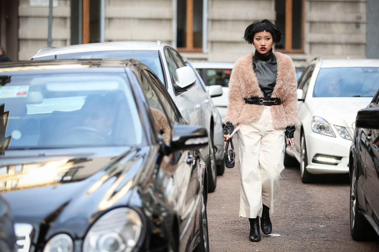 Il cappotto di pelliccia colorata: da YSL alla moda street style