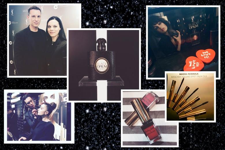 Yves Saint Laurent Black Opium: la gallery social da Instagram