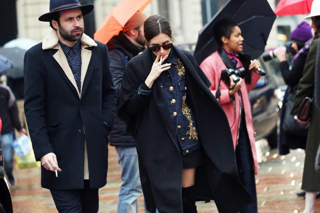 in alberta ferretti milano fashion week photo nam