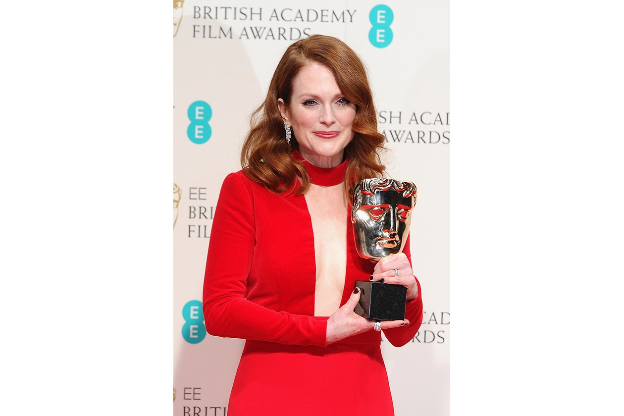 BAFTA BEAUTY LOOK: julianne moore