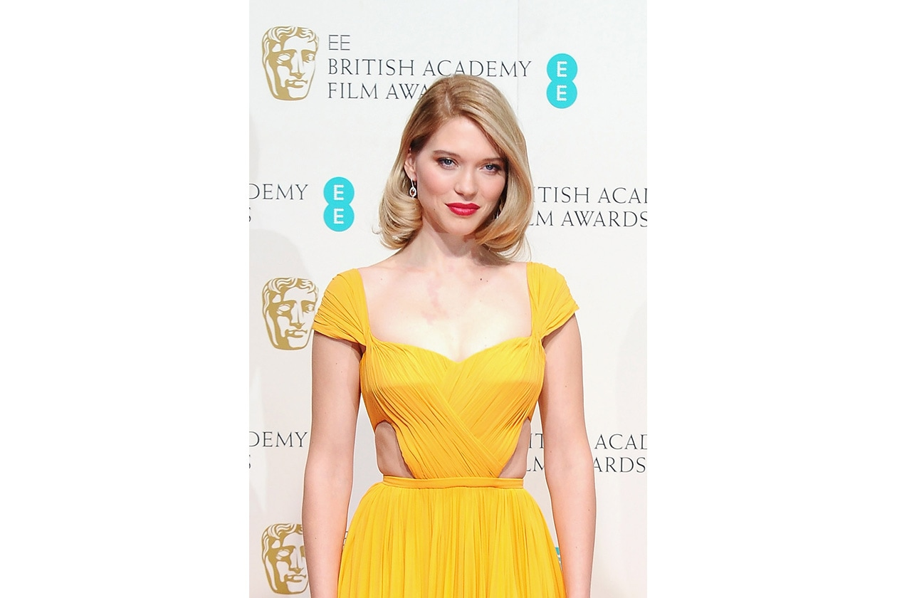 BAFTA BEAUTY LOOK: lea seydoux