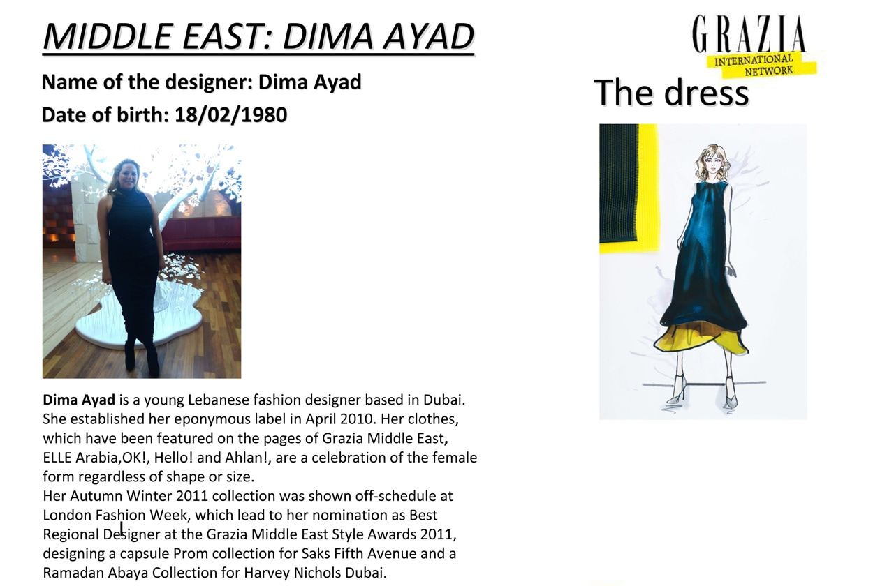 middle east: dima ayad
