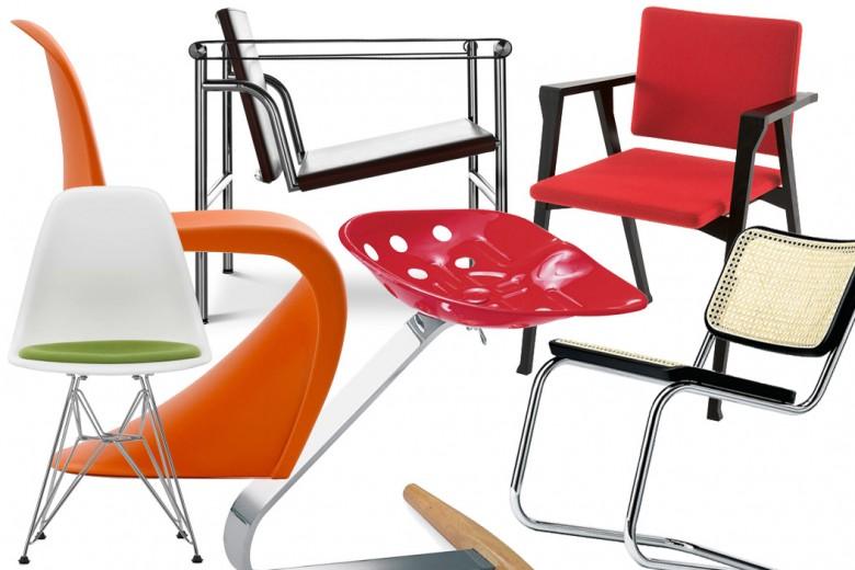 Le 10 sedie più famose della storia del design