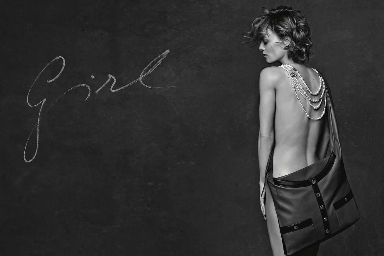 02 3 GIRLS 3 BAGS VANESSA PARADIS GIRL CHANEL AD CAMPAIGN PICTURE BY KARL LAGERFELD HD
