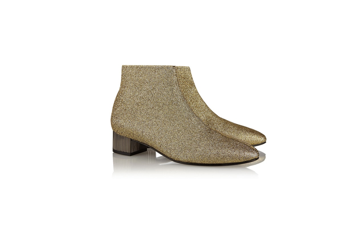 ANKLE BOOTS METAL: ROBERT CLERGERIE