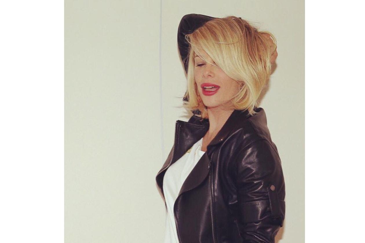 Alessia Marcuzzi capelli: caschetto morbido