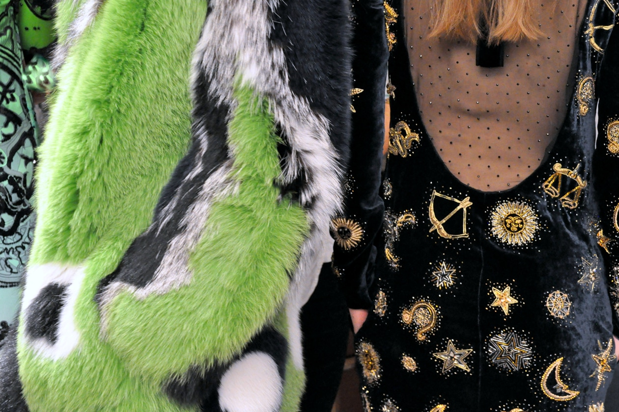BACKSTAGE EMILIO PUCCI A/I 2015-16: FUR, VELVET AND GOLD