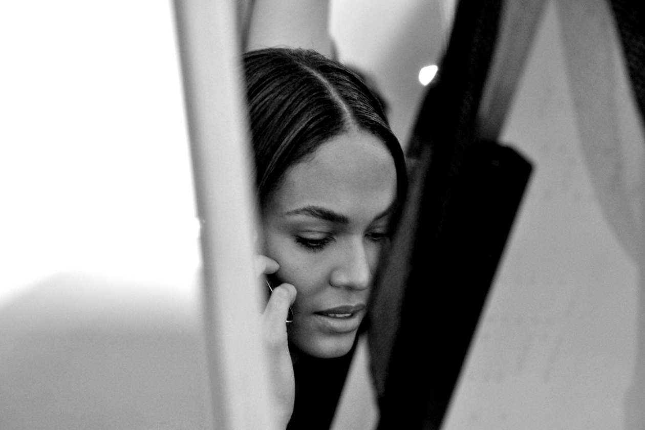 BACKSTAGE EMILIO PUCCI A/I 2015-16: JOAN SMALLS