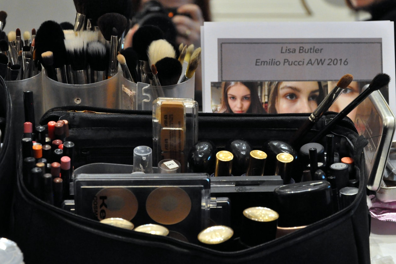 BACKSTAGE EMILIO PUCCI A/I 2015-16: THE TOOLS