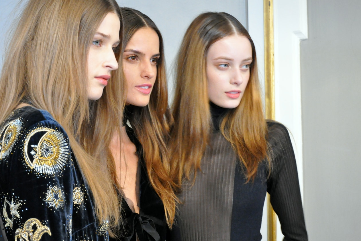 BACKSTAGE EMILIO PUCCI A/I 2015-16: WHAT A TRIO