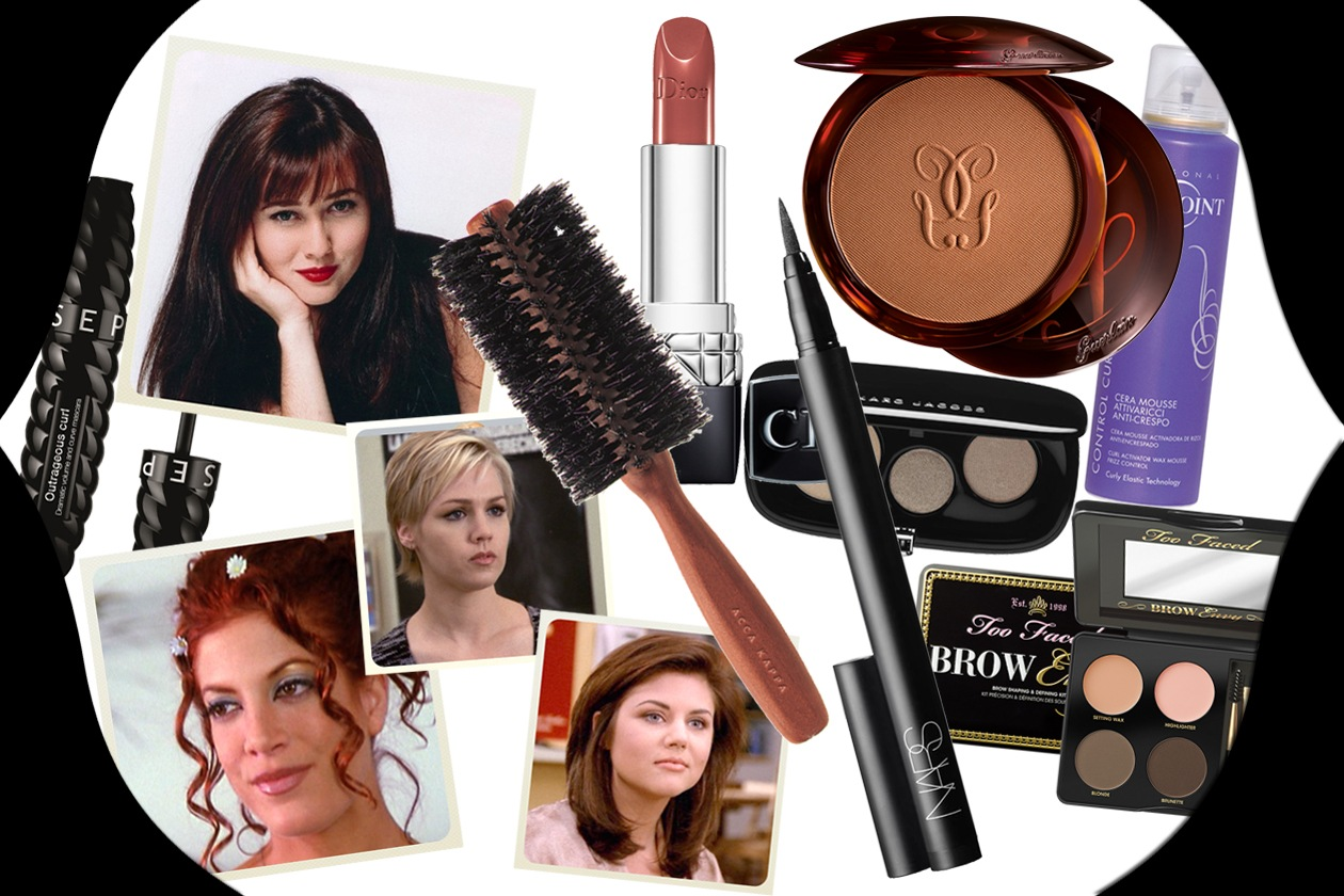 Beverly Hills 90210: i beauty look delle protagoniste