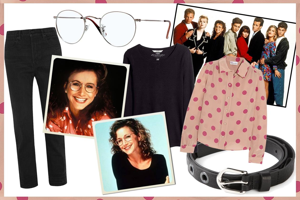 Beverly hills 90210: il look di andrea zuckerman