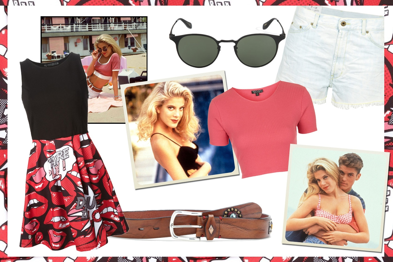 Beverly hills 90210: il look di donna martin