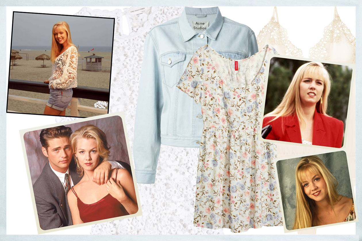 Beverly hills 90210: il look di kelly taylor