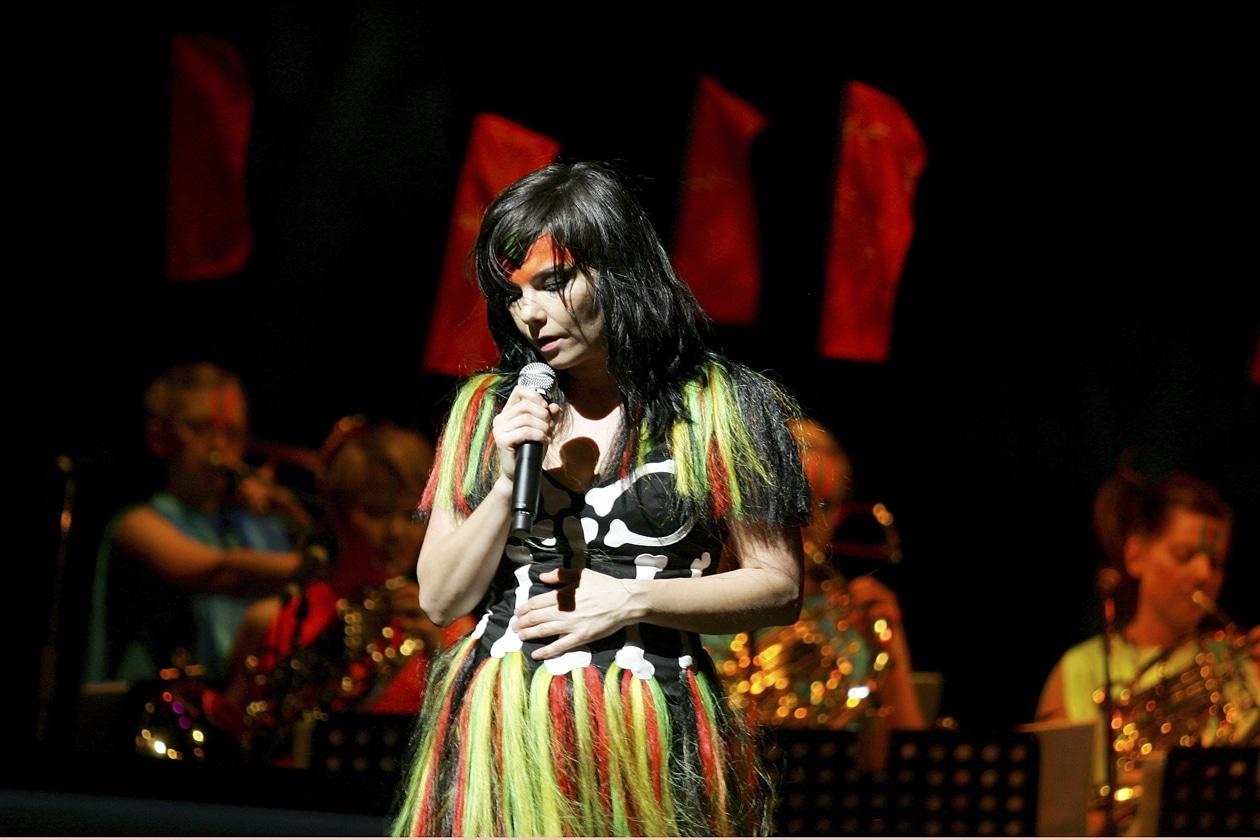 Björk Coachella 2007