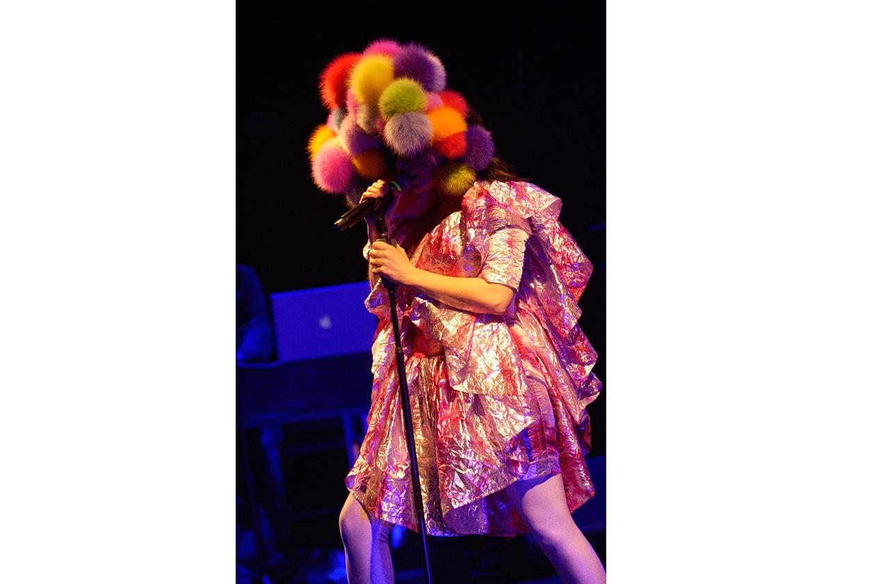 Björk Hammersmith Apollo di Londra 2008
