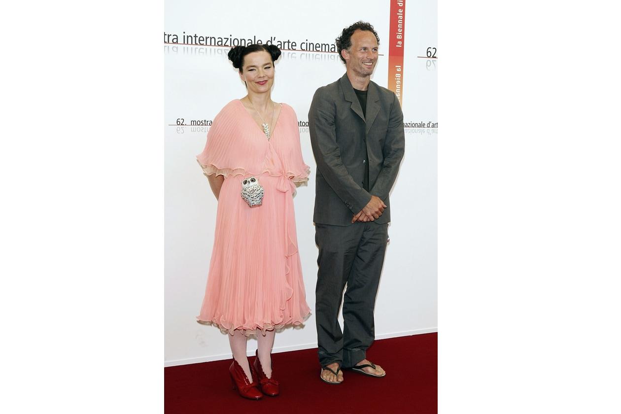 Björk Mostra del Cinema di Venezia 2005