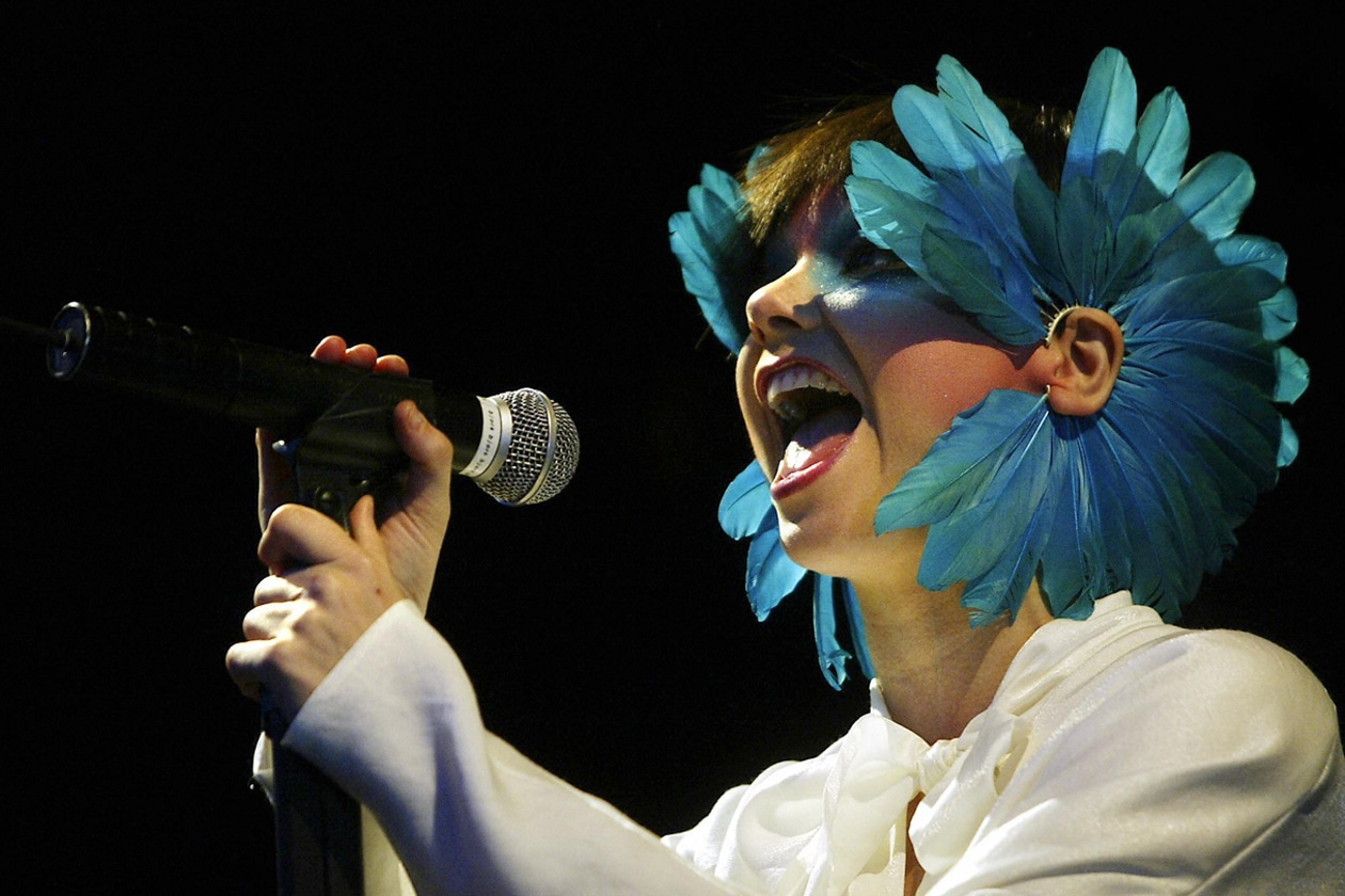 Björk Roskilde Festival 2003