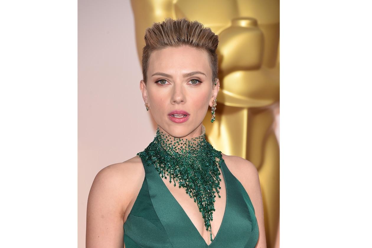 Capelli corti: Scarlett Johansson