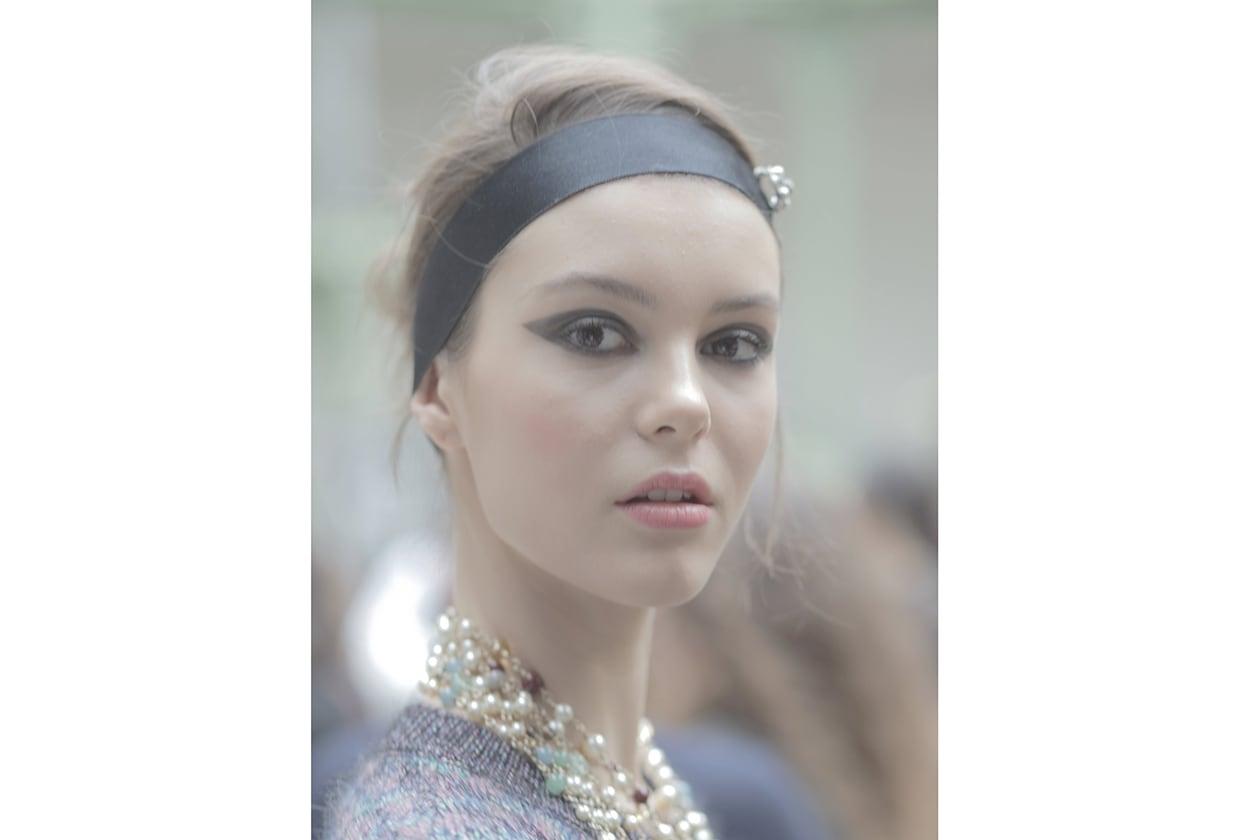 Chanel Prêt-à-Porter Autunno/Inverno 2015-16: labbra rosa
