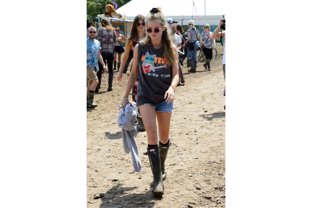 Cressida Bonas capelli: festival girl