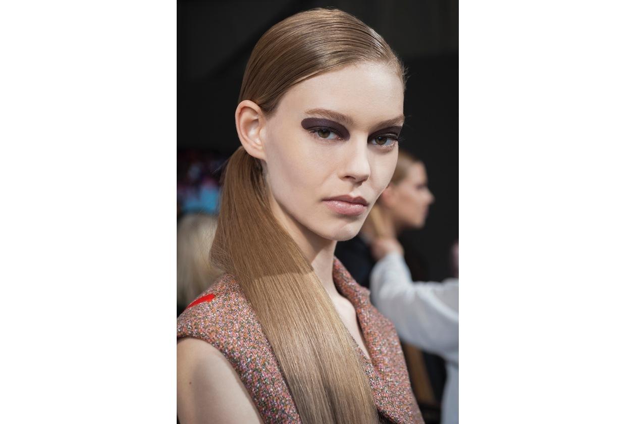 Dior Prêt-à-Porter A/I 2015-16: focus on eyes