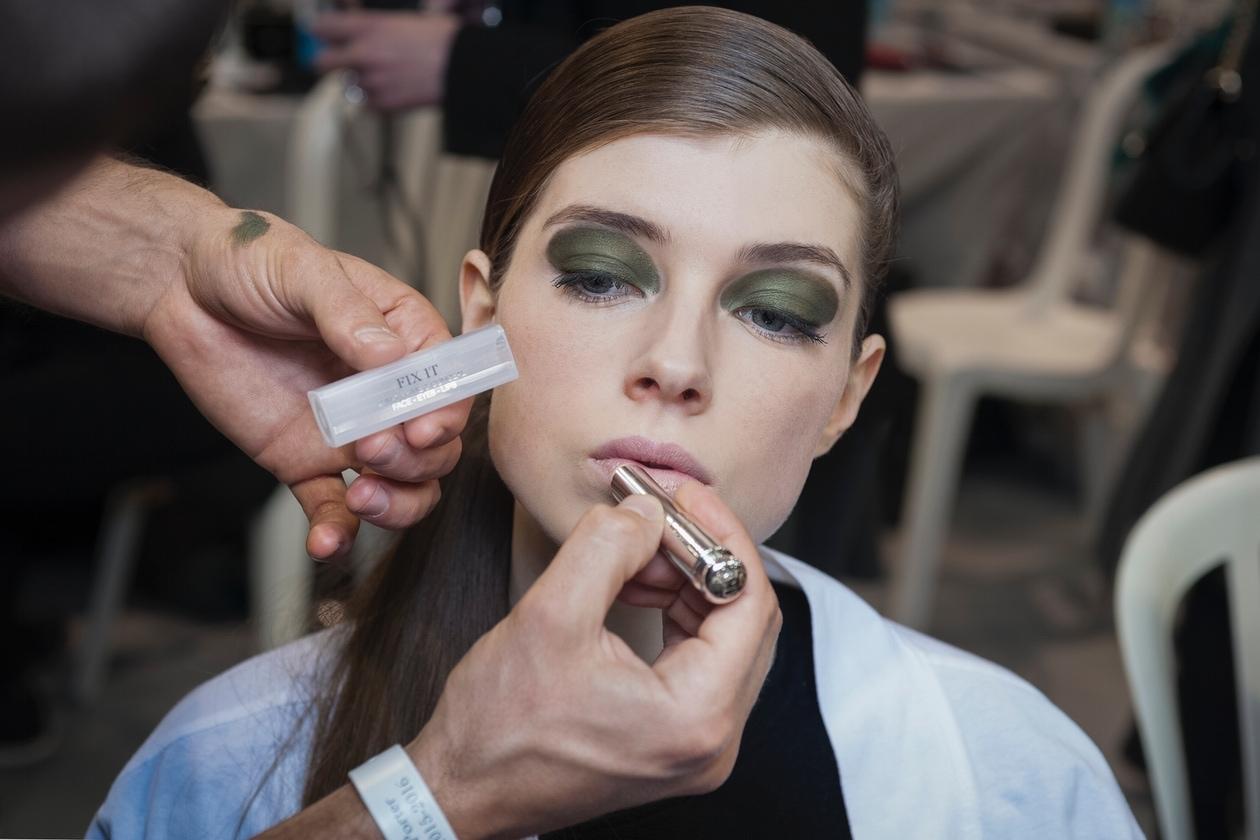 Dior Prêt-à-Porter A/I 2015-16: labbra naturali