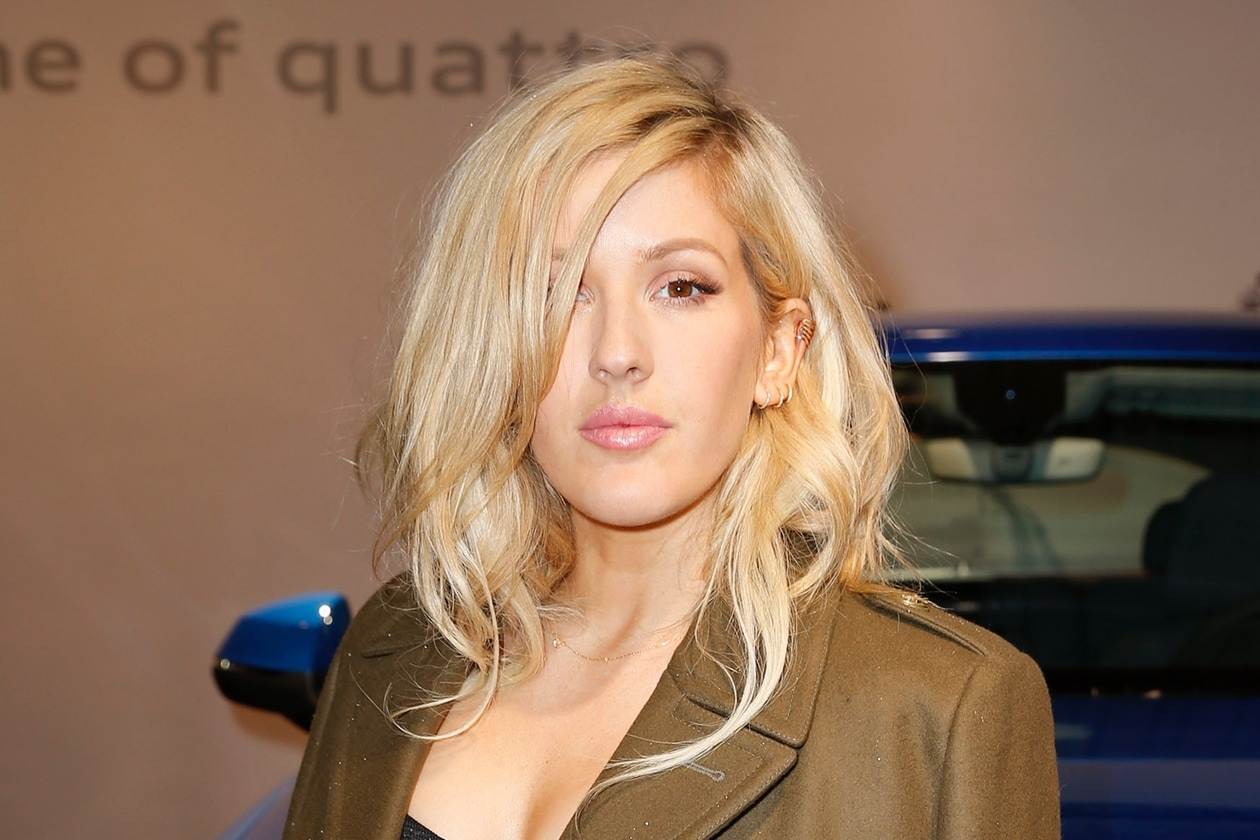Ellie Goulding capelli: ciuffo laterale