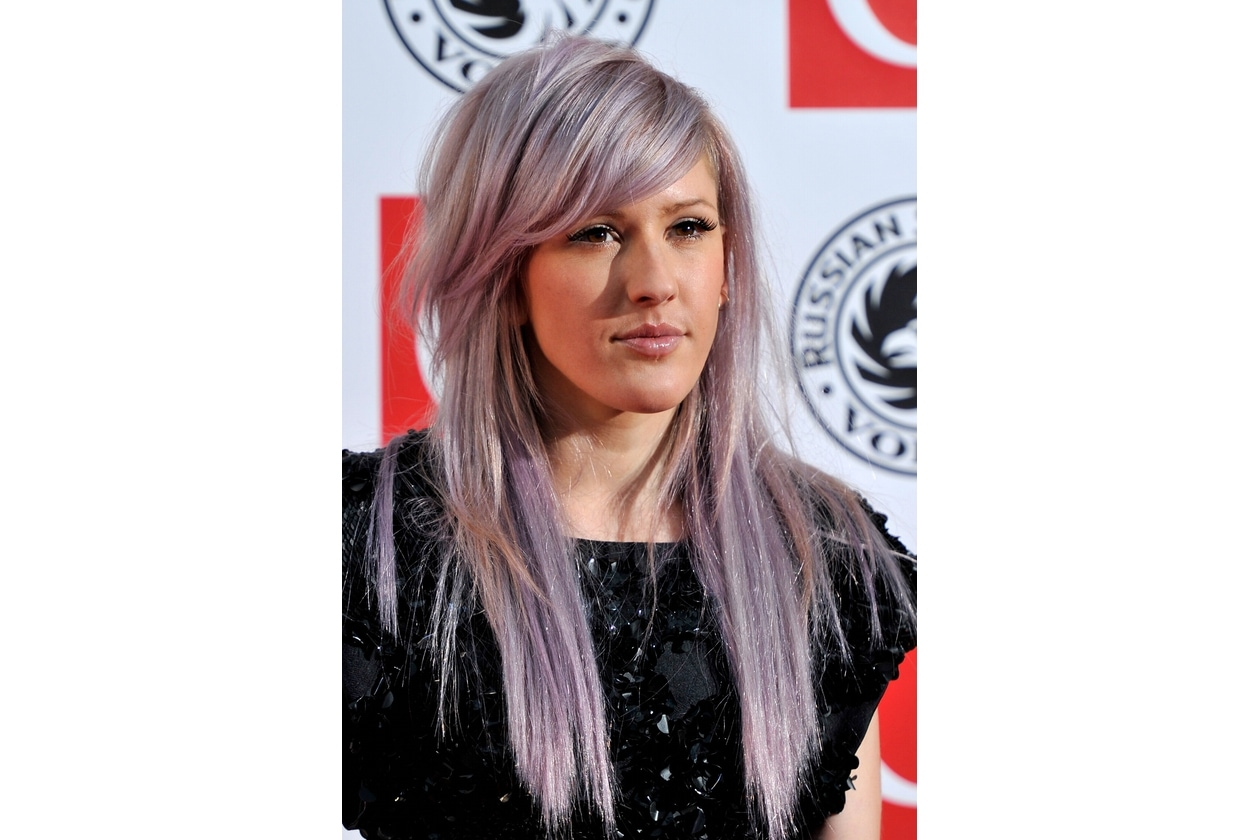 Ellie Goulding capelli: lavanda delicato