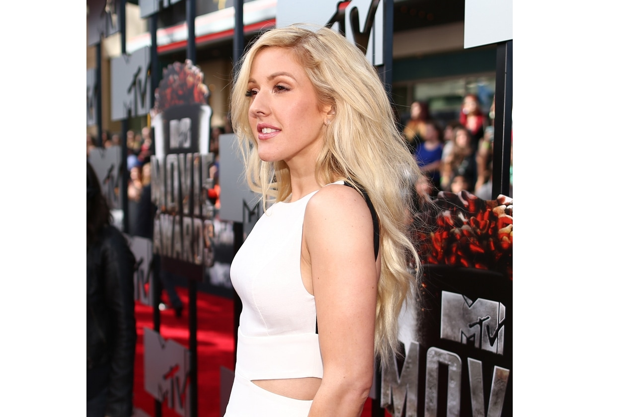 Ellie Goulding capelli: lunghezze fluenti
