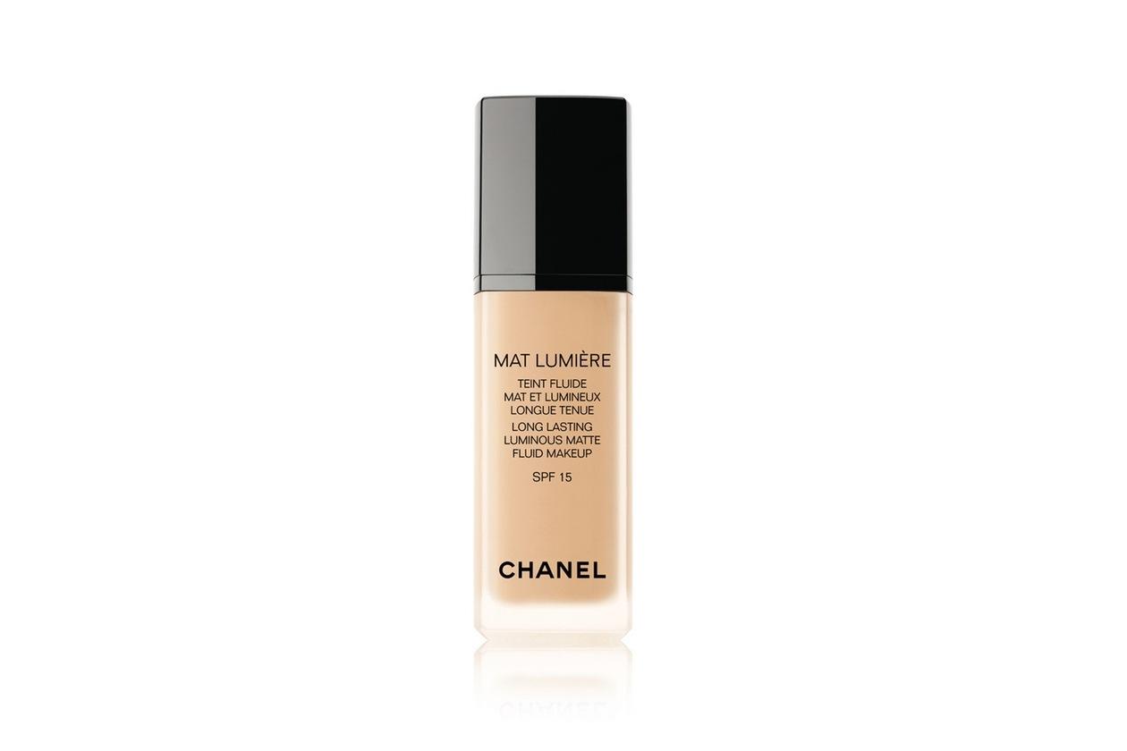 Fondotinta matte: Chanel Mat Lumiére