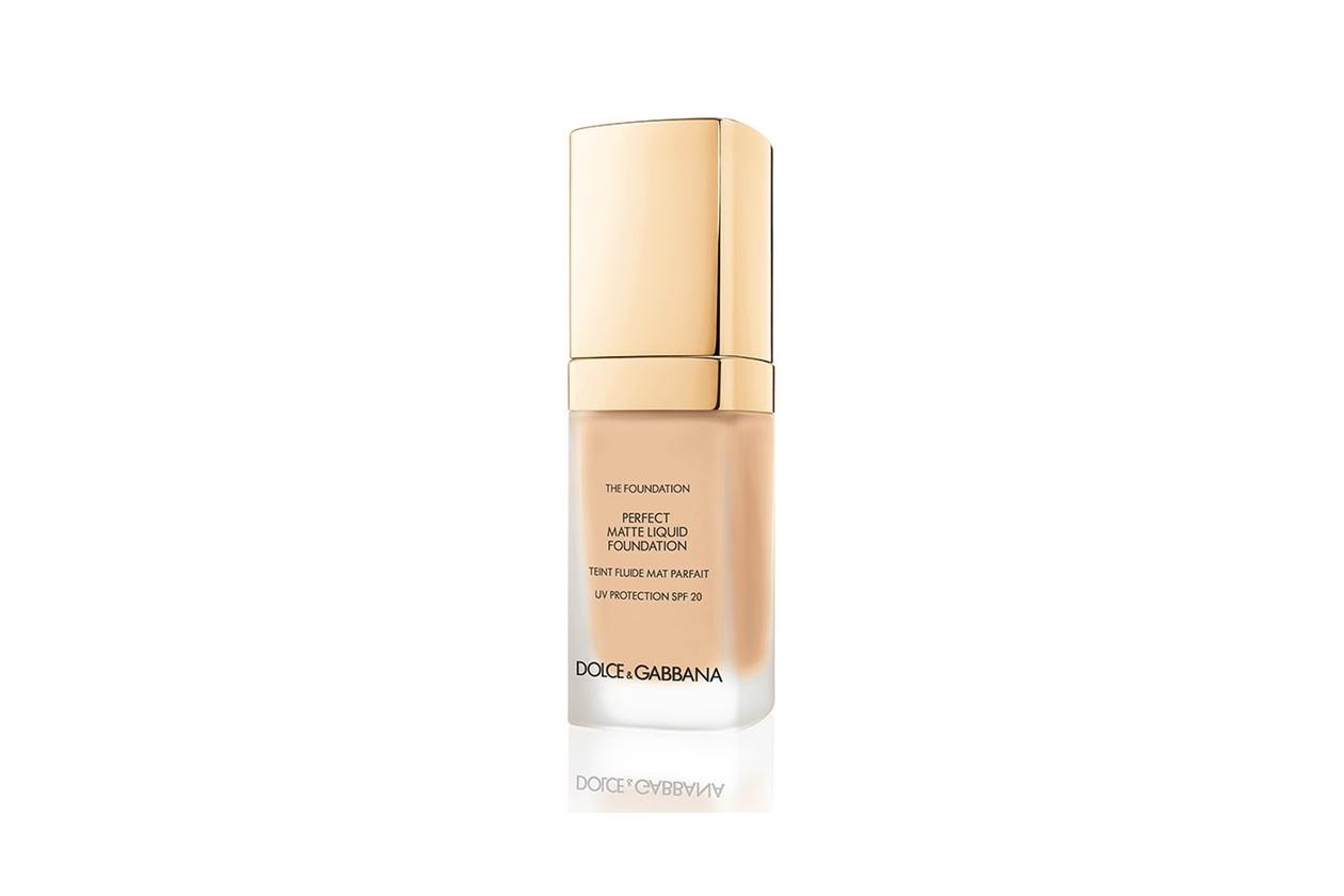 Fondotinta matte: Dolce & Gabbana Perfect Matte Liquid Foundation