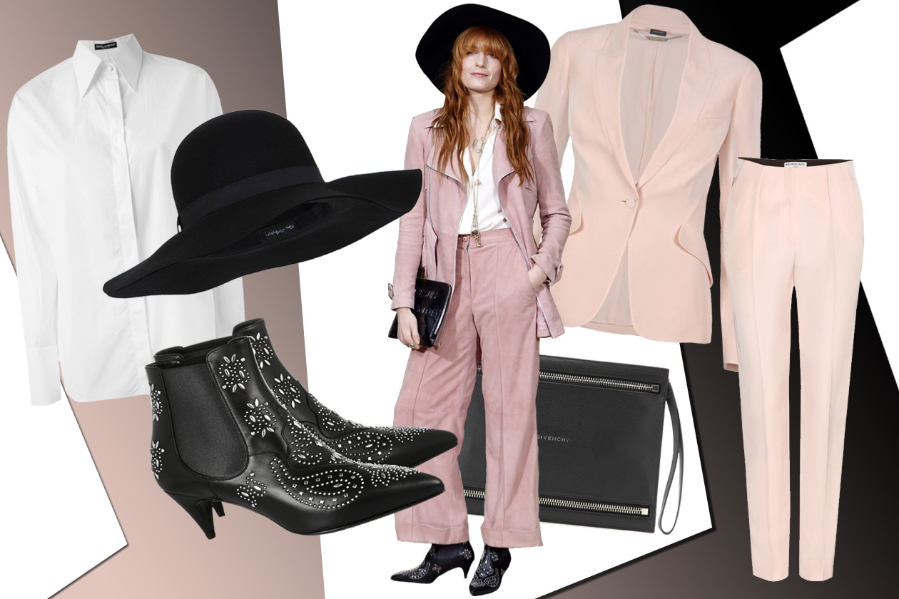 GET THE PINK SUIT LOOK