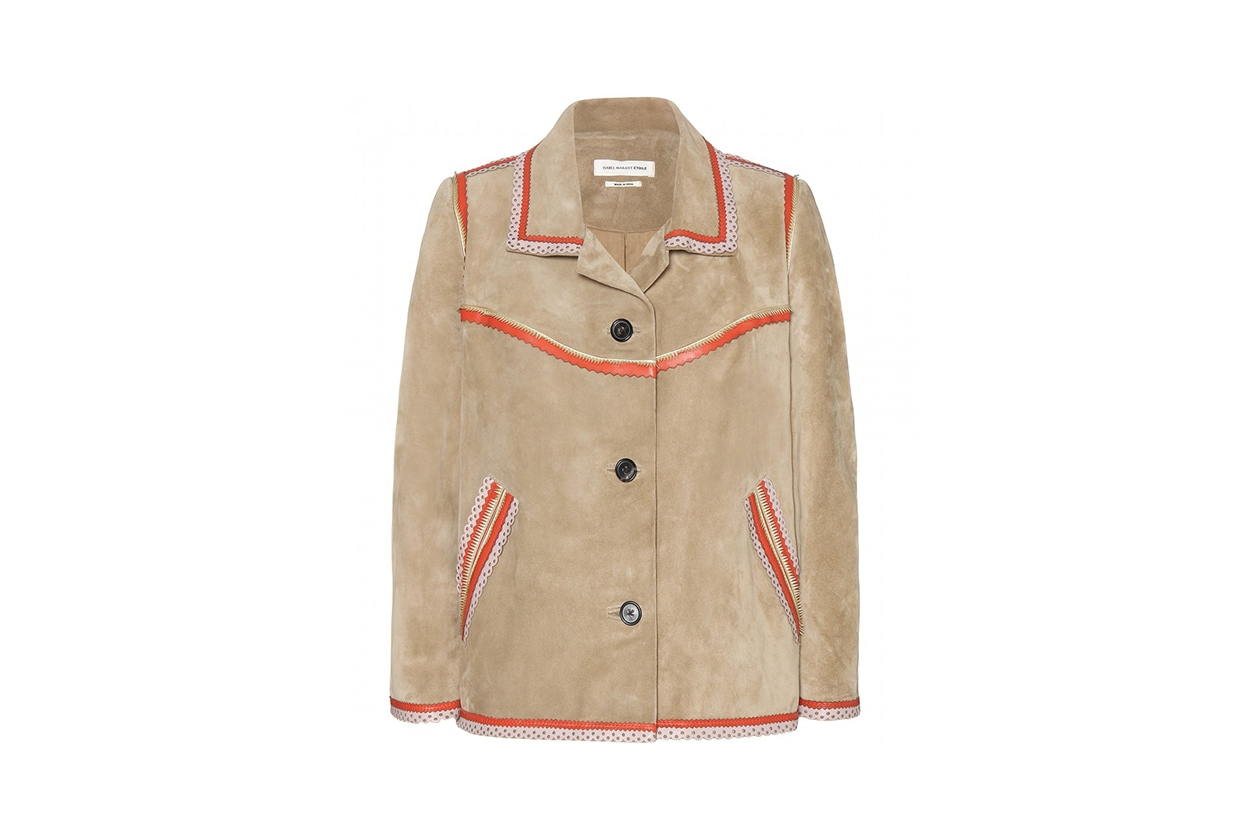GIACCA IN SUEDE: ISABEL MARANT Étoile
