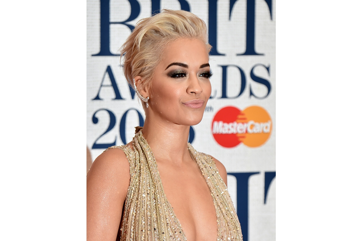 Gli smokey eyes delle star: Rita Ora