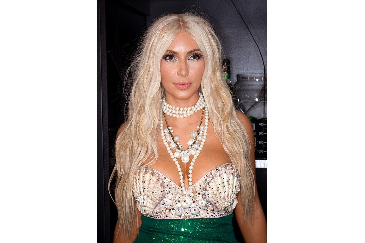 Il biondo di Kim nel 2012