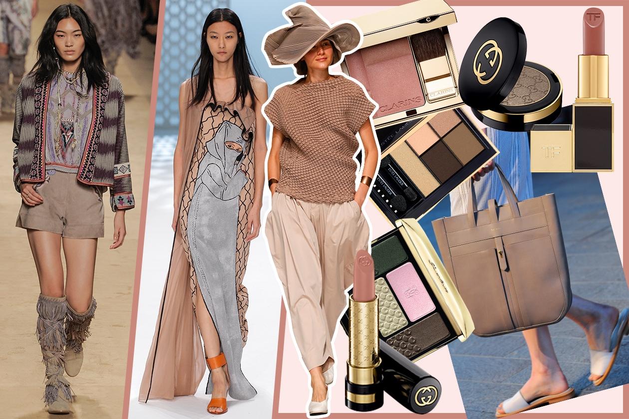 Il look color cammello per la Primavera/Estate 2015: scoprite il make up da abbinare con Grazia.it