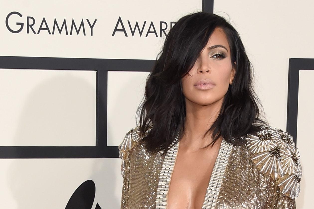 Il taglio bob di Kim ai Grammy Awards