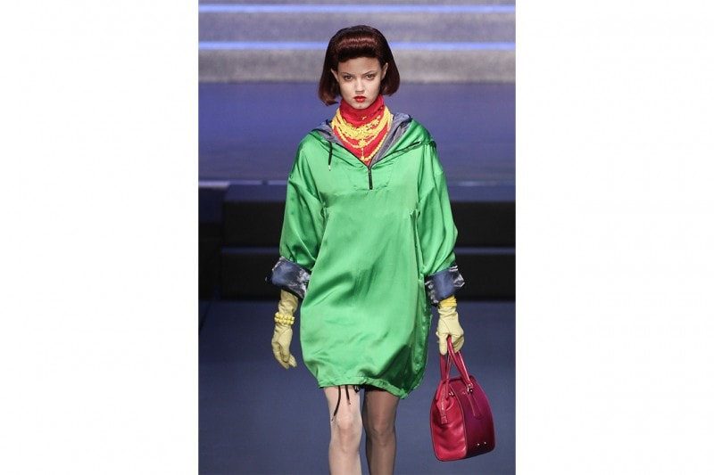 Il verde di Jean Paul Gaultier P/E 2015